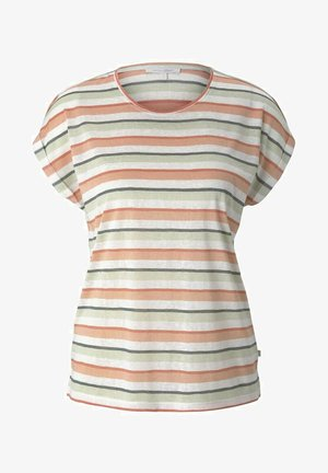 Basic T-shirt - multicolor stripe