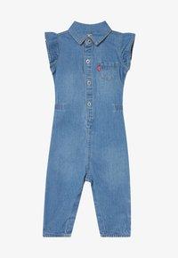 Levi's® - RUFFLE SLEEVE UTILITY - Jumpsuit - blue - 2