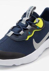 Nike Sportswear - RENEW 55 - Baskets basses - midnight navy/light smoke grey/lemon/laser blue - 2