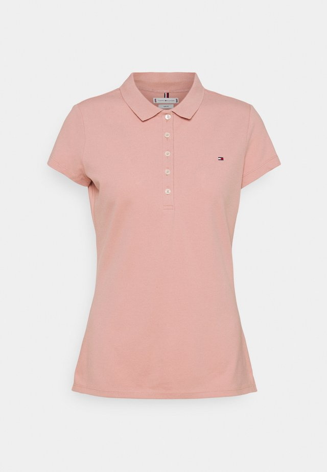 SLIM - Polo - soothing pink