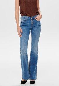 JDY - Flared Jeans - light blue denim - 0