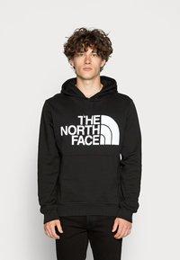 The North Face - STANDARD HOODIE - Hoodie - black - 0