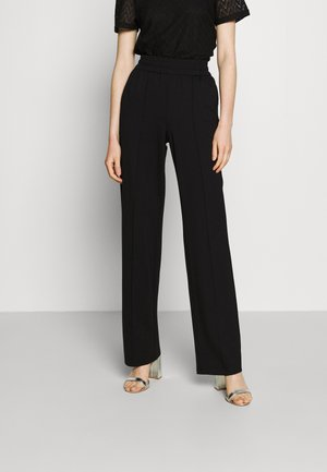 ONLPOPTRASH SUKI LIFE WIDE PANT - Trousers - black