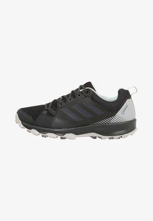 TERREX TRACEROCKER GORE TEX - Trail running shoes - black/carbon/ashgreen