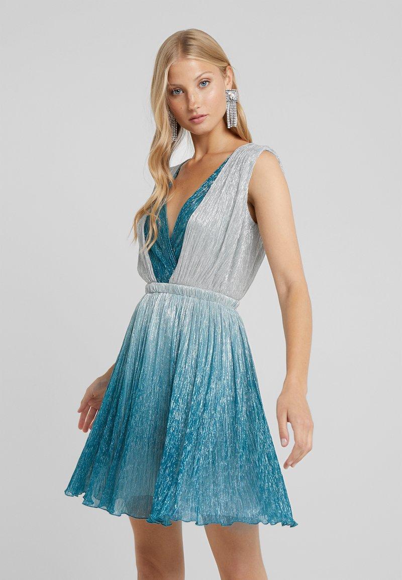 LIU JO - ABITO - Vestito elegante - ocean gard/platino
