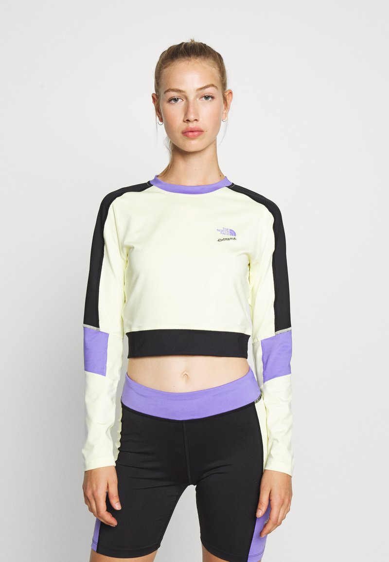 The North Face - EXTREME - Langarmshirt - tender yellow