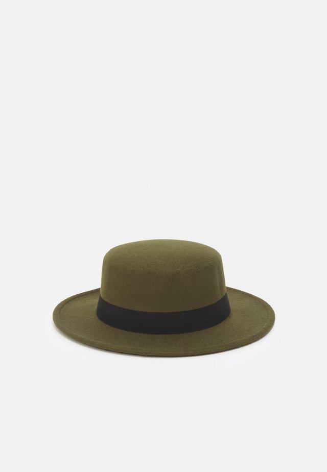 BOATER HAT UNISEX - Hatt - khaki