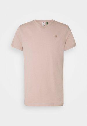 BASE-S V T S\S - T-shirt basic - light pink
