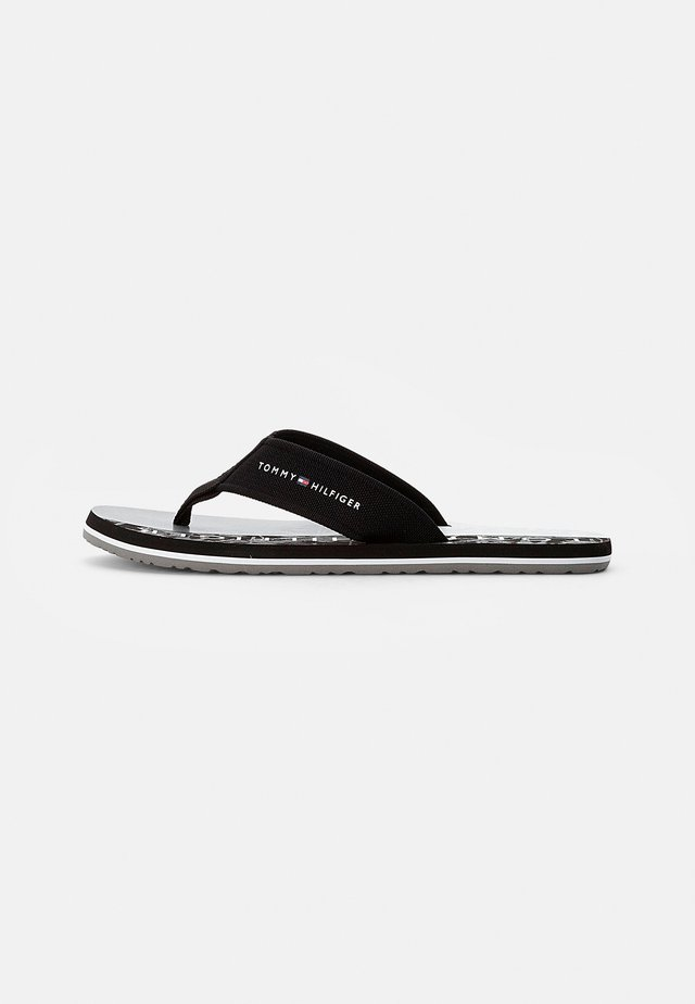 PALM  BEACH SANDAL - tåsandaler - black