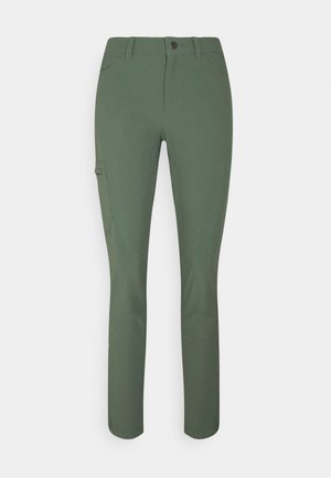 SKYLINE TRAVELER PANTS - Kangashousut - kale green