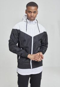 Urban Classics - Summer jacket - blk/wht - 0