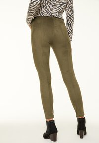 comma casual identity - Leggings - Trousers - khaki - 2