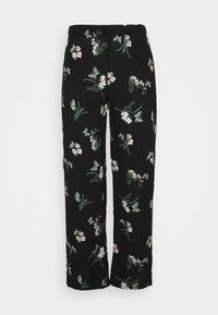 Vero Moda Petite - VMSIMPLY EASY  WIDE PANT - Trousers - black - 0