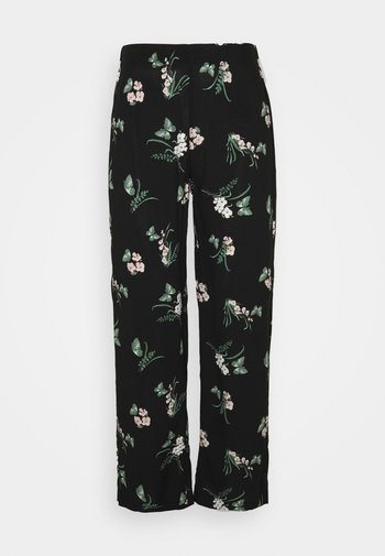 VMSIMPLY EASY  WIDE PANT - Pantaloni - black