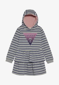 Guess - TODDLER HOODED ACTIVE - Denní šaty - melange grey - 2
