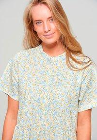 Noella - Maxi dress - yellow blue flower - 2