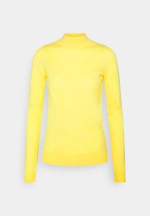 MOCKNECK PUFF SLEEVE - Trui - yellow