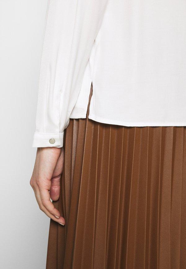 comma Bluzka z długim rękawem - white/biały CRKX