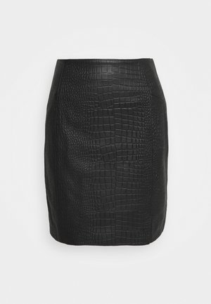 YASIRINA SKIRT - Mini skirt - black