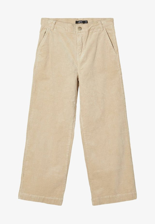 Trousers - white pepper