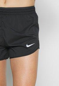 Nike Performance - TEMPO SHORT  - Pantalón corto de deporte - black/anthracite/reflective silver - 4