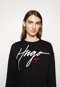 HUGO - NACINIA - Sweatshirt - black - 3
