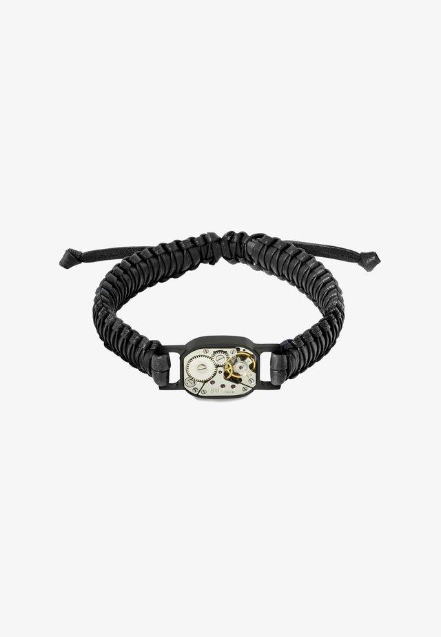 TONNEAU & ROUND SKELETON - Armband - black