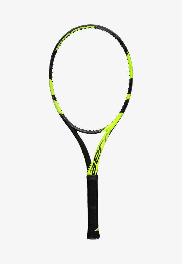 PURE AERO - Tennis racket - gelb/schwarz