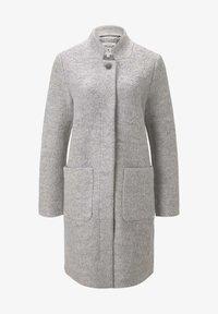 TOM TAILOR - Short coat - mid grey melange - 5