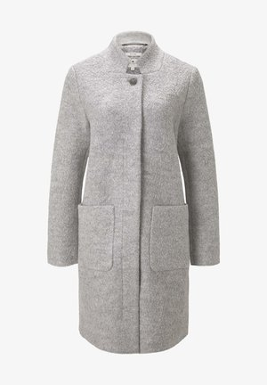 Short coat - mid grey melange