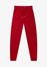 Stradivarius - Tracksuit bottoms - red - 4