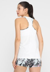 Nike Performance - TANK ALL OVER  - Sports shirt - white/black - 2