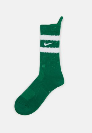 ELITE CREW CHRISTMAS SOCK - Sportsstrømper - clover/gym green/white