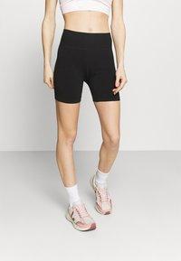 Cotton On Body - LIFESTYLE SEAMLESS YOGA SHORT - Tights - black - 0