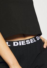 Diesel - UFSET PIJIMMY PYJAMA - Pyjama set - black - 5
