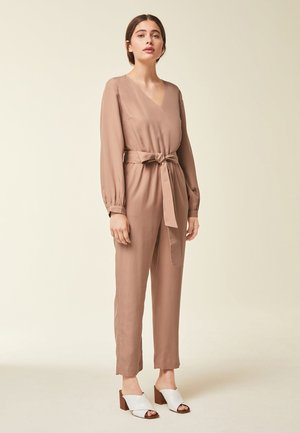 CROPPED  - Overall / Jumpsuit - toffee