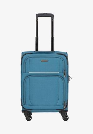GARDA - Wheeled suitcase - petrol-grau