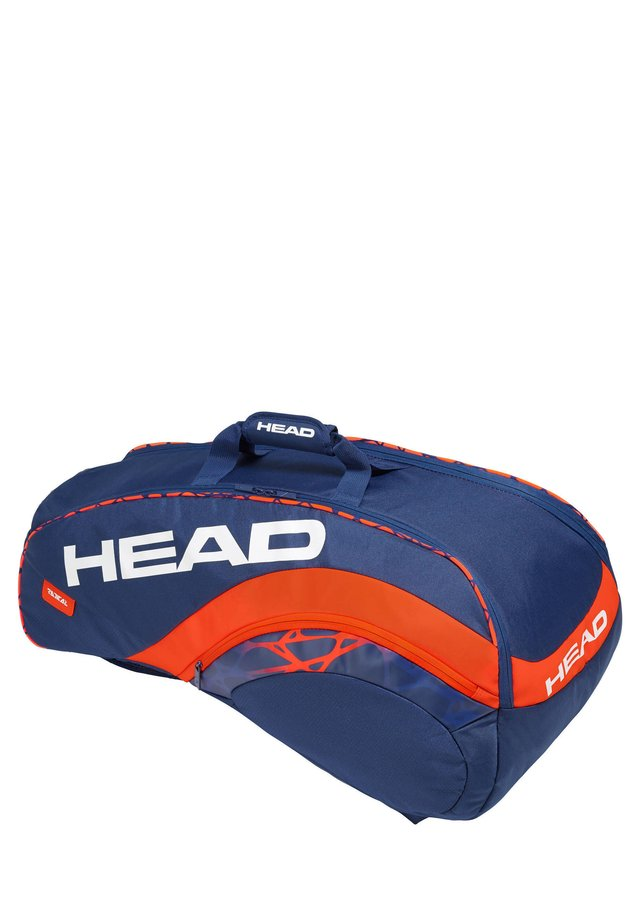 "HEAD TENNISTASCHE ""RADICAL 9R SUPERCOMBI"" - Sports bag - blue/orange"