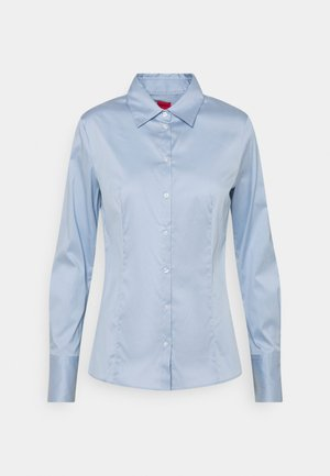 THE FITTED - Button-down blouse - blue