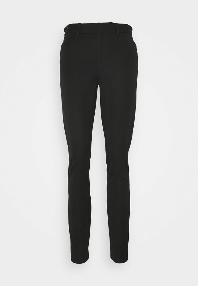 ANKLE BISTRETCH - Pantalones - true black