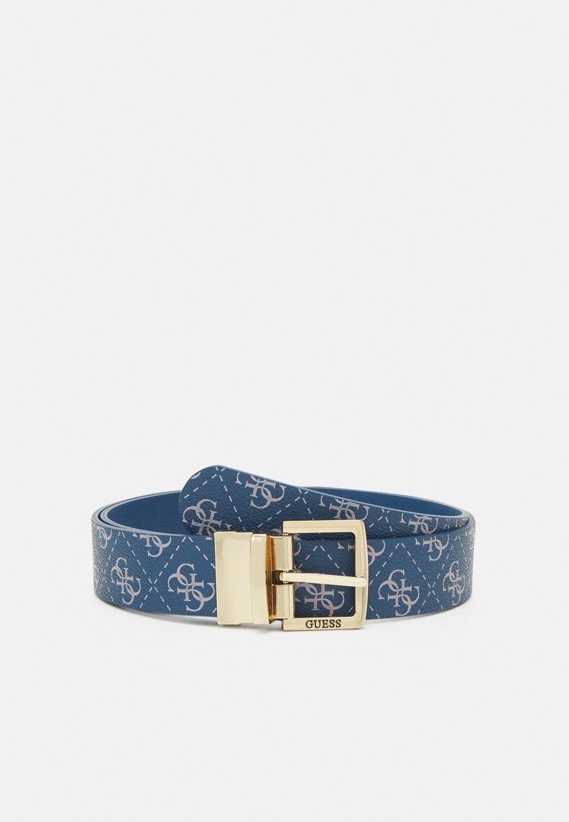 Guess - TYREN PANT BELT - Belt - blue