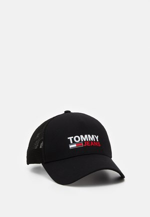 LOGO TRUCKER - Cap - black