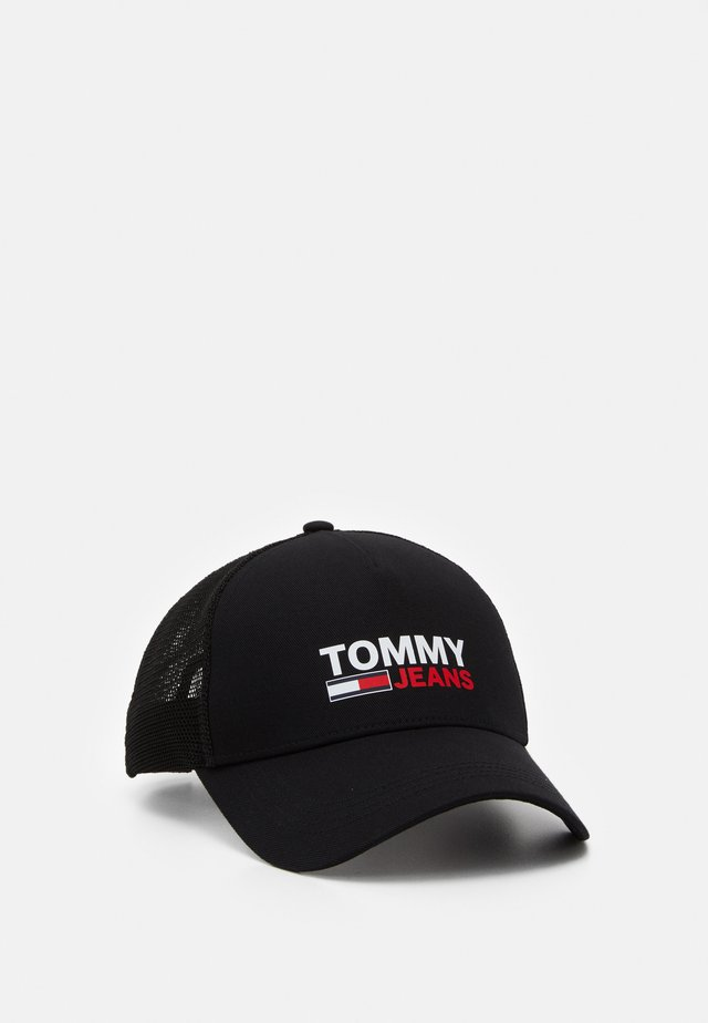 LOGO TRUCKER - Gorra - black