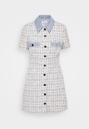 RALF - Shirt dress - bicolore