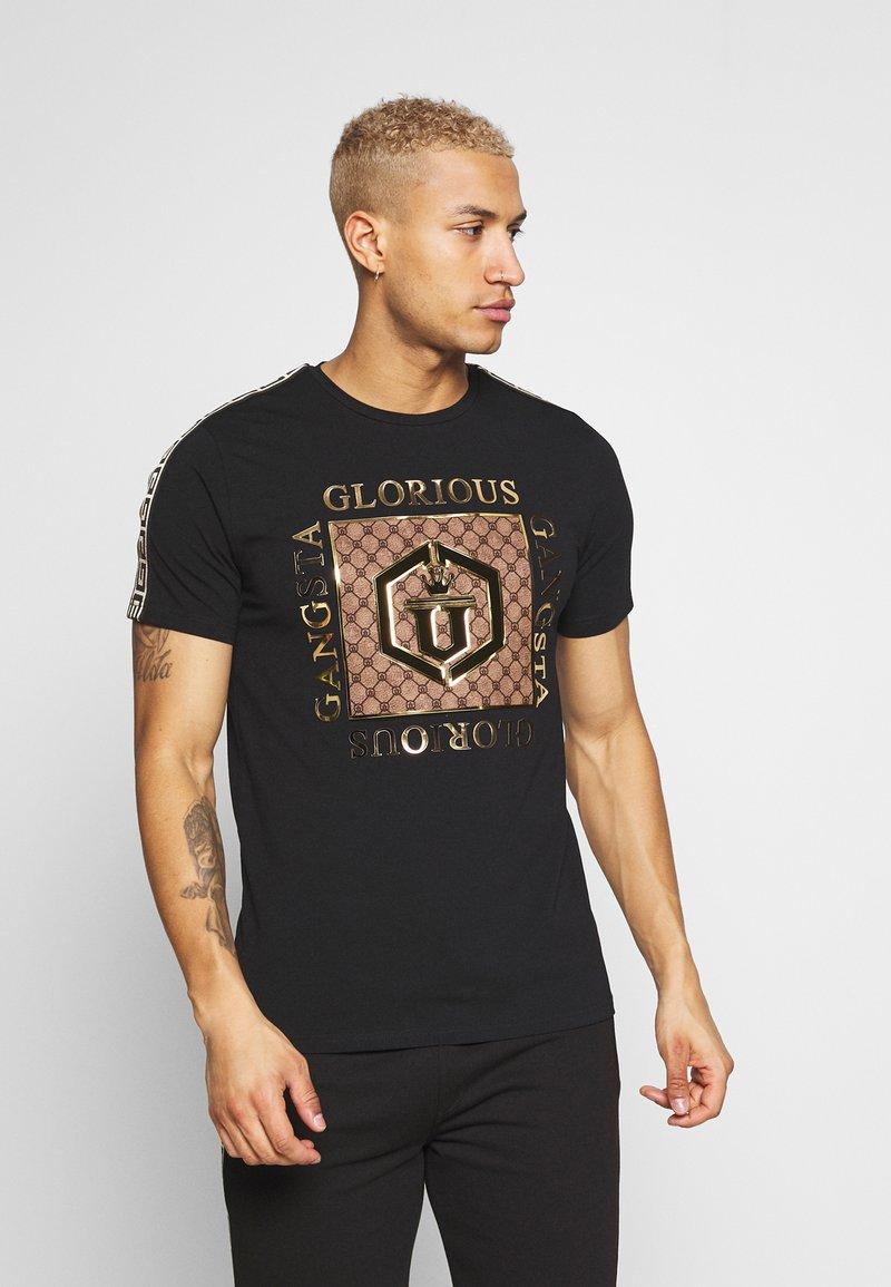 Glorious Gangsta - VASILI  - T-shirt z nadrukiem - black