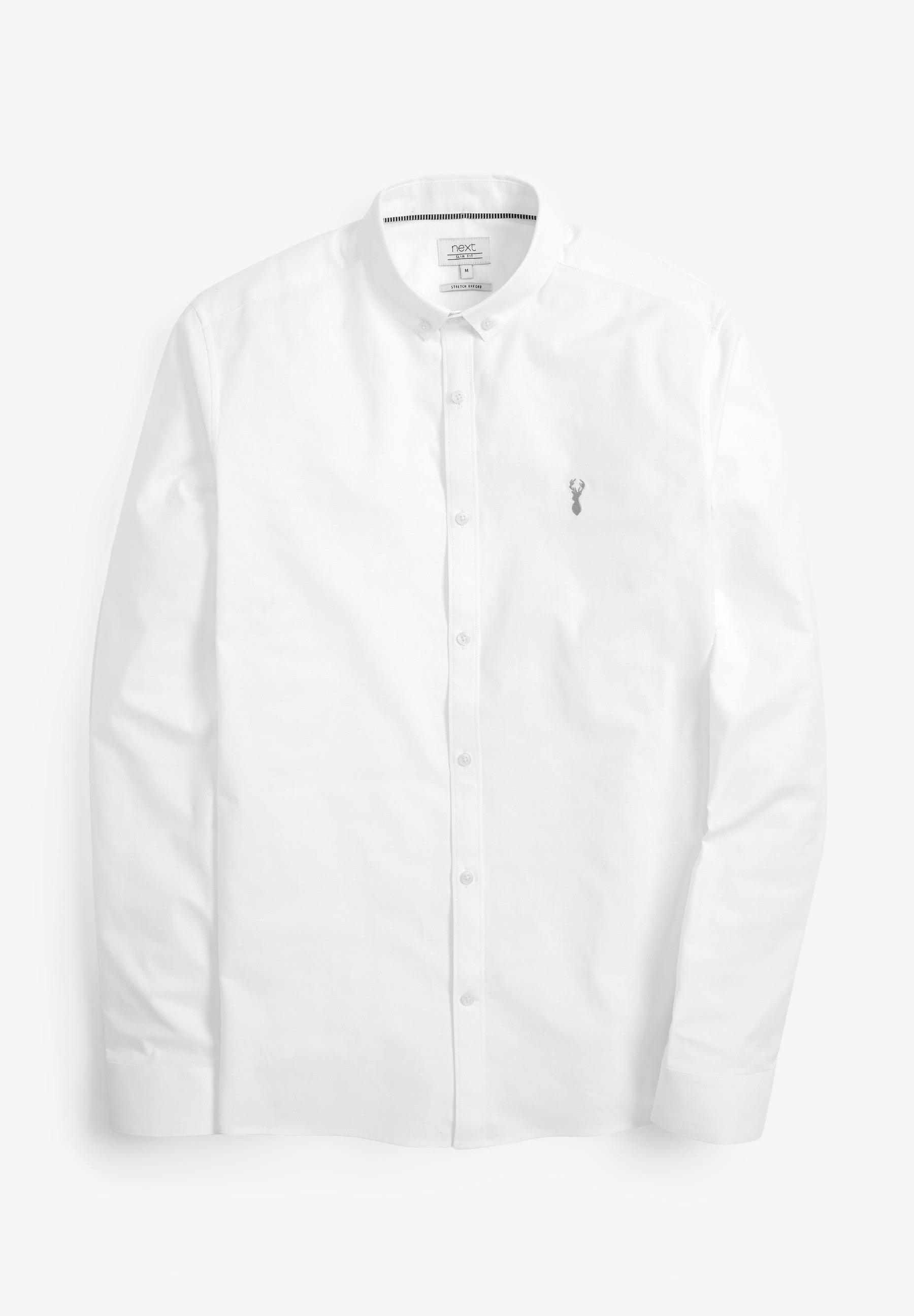 Herren LONG SLEEVE STRETCH OXFORD - Hemd