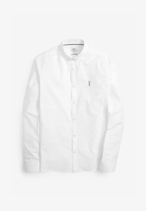 LONG SLEEVE STRETCH OXFORD - Camicia - white