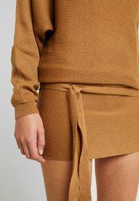 TWINTIP - Jumper dress - light brown - 4