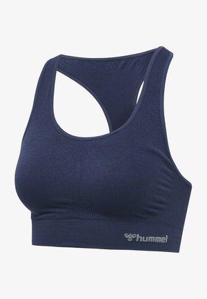 Medium support sports bra - black iris