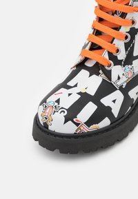 Marni - Lace-up ankle boots - black/multicolor - 5